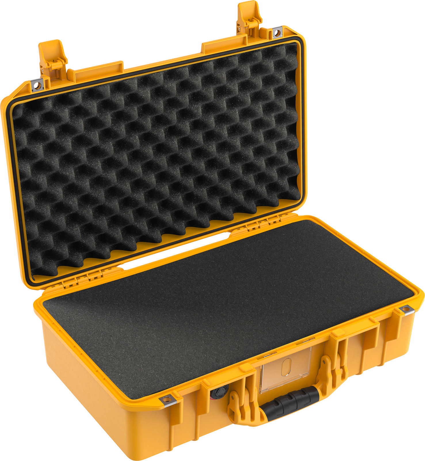pelican 1525 air foam yellow camera case