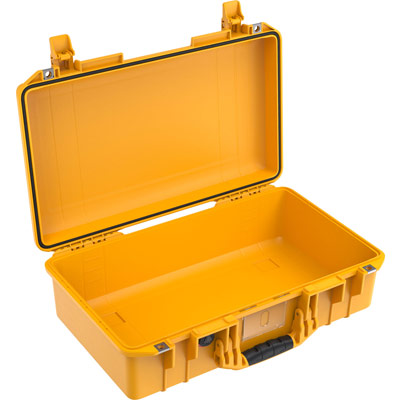 pelican air 1525 yellow carry on case