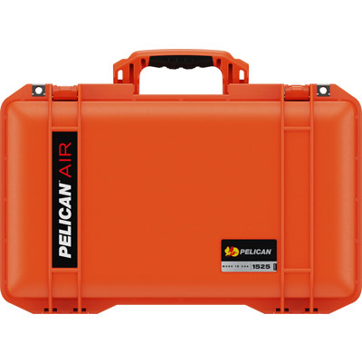 pelican orange air case 1525 waterproof case