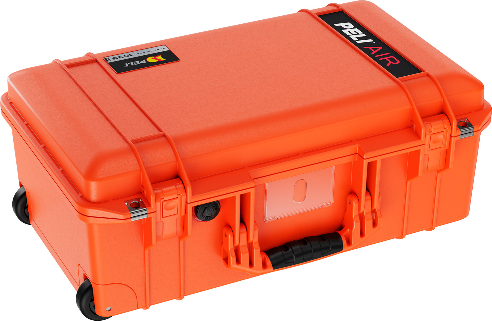 peli 1535 orange air case carry on cases