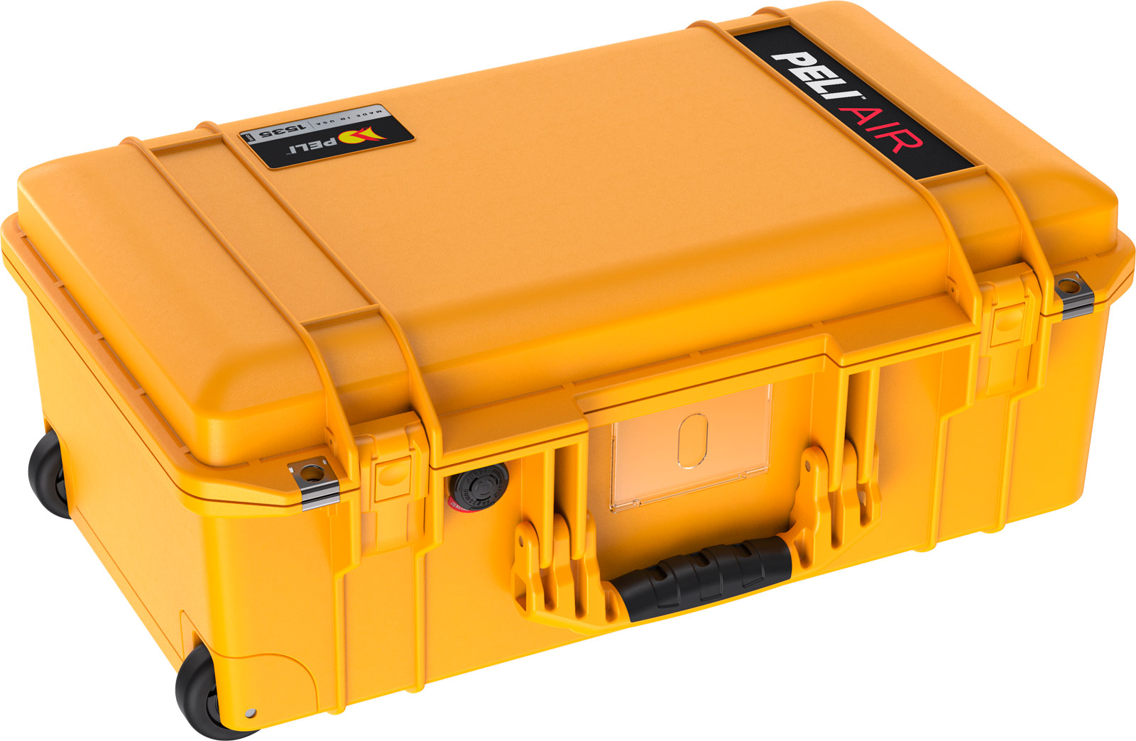 peli 1535 air cases yellow carry on case