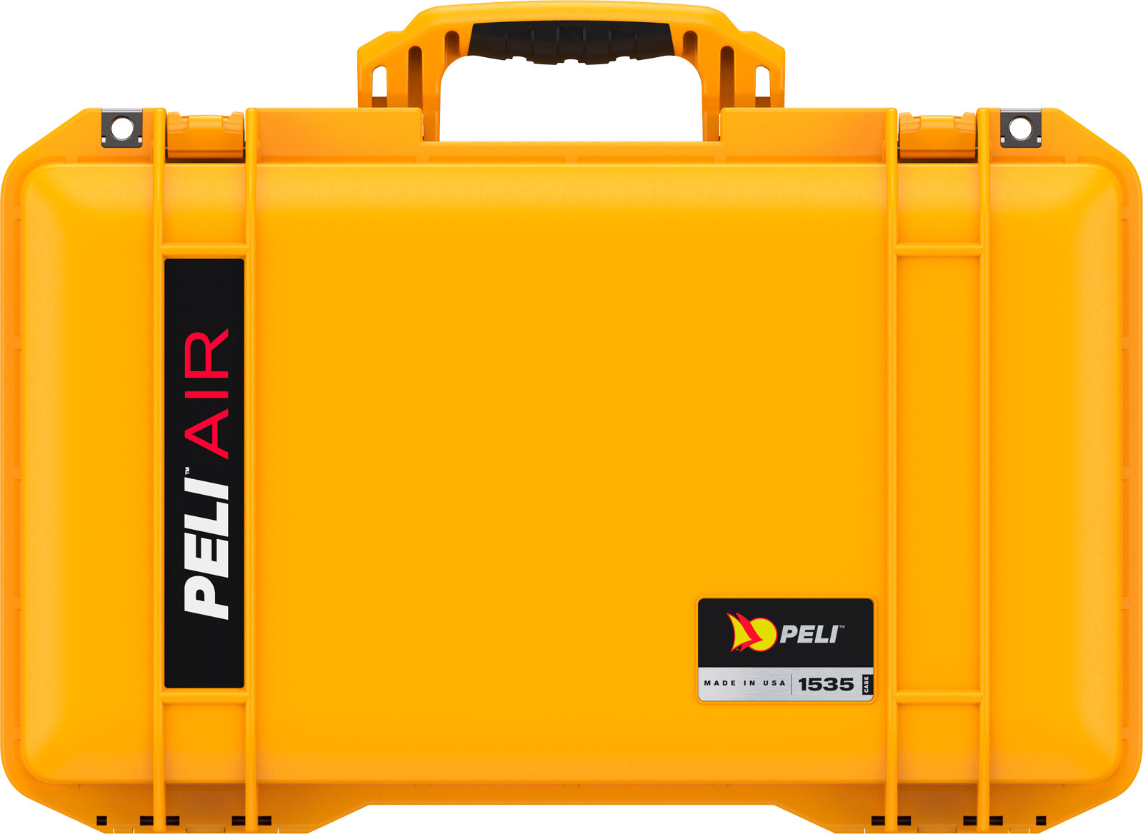 peli 1535 yellow air case color carry on case