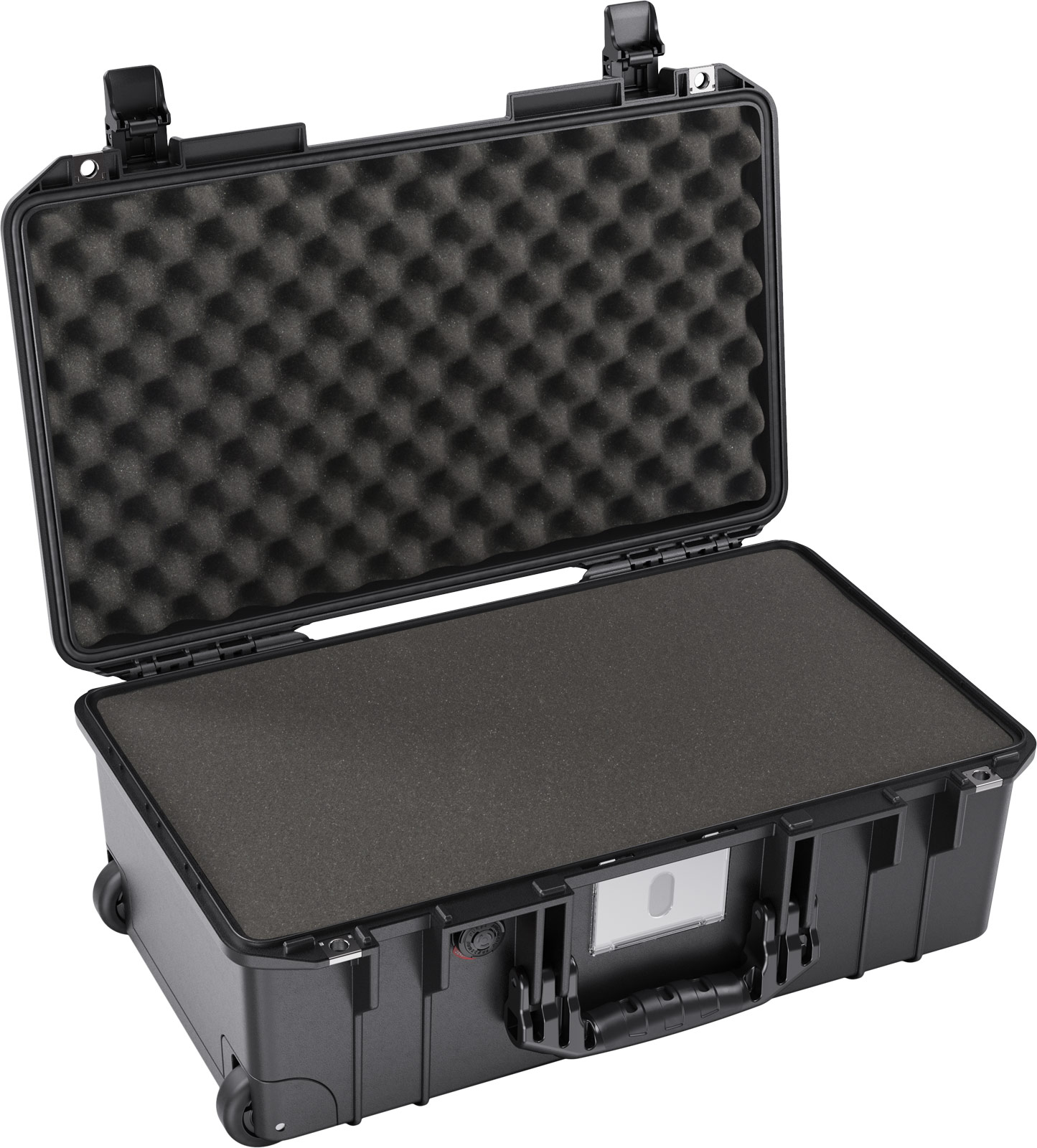 pelican 1535 air black foam carry on case