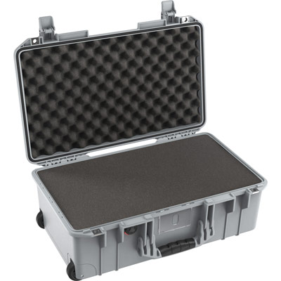 pelican 1535 air silver foam travel case