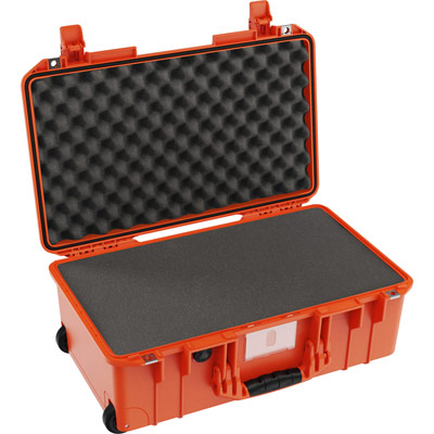 buy pelican air 1535 shop orange foam carry on case