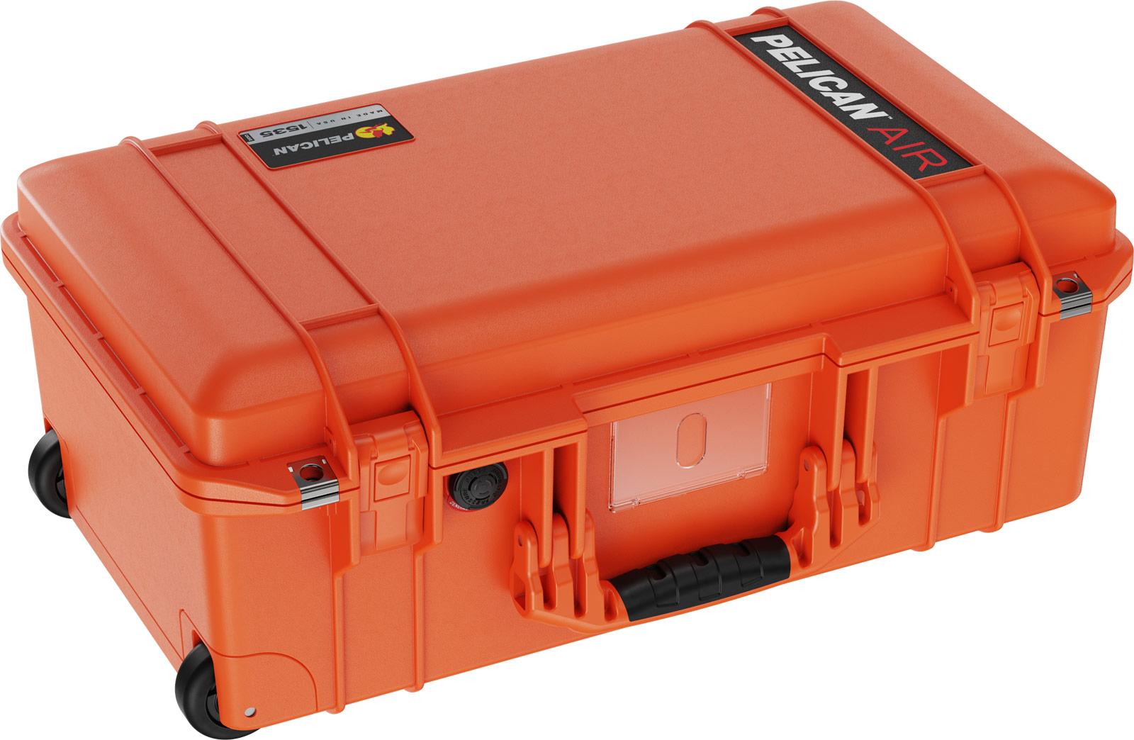 pelican orange travel cases air case 1535