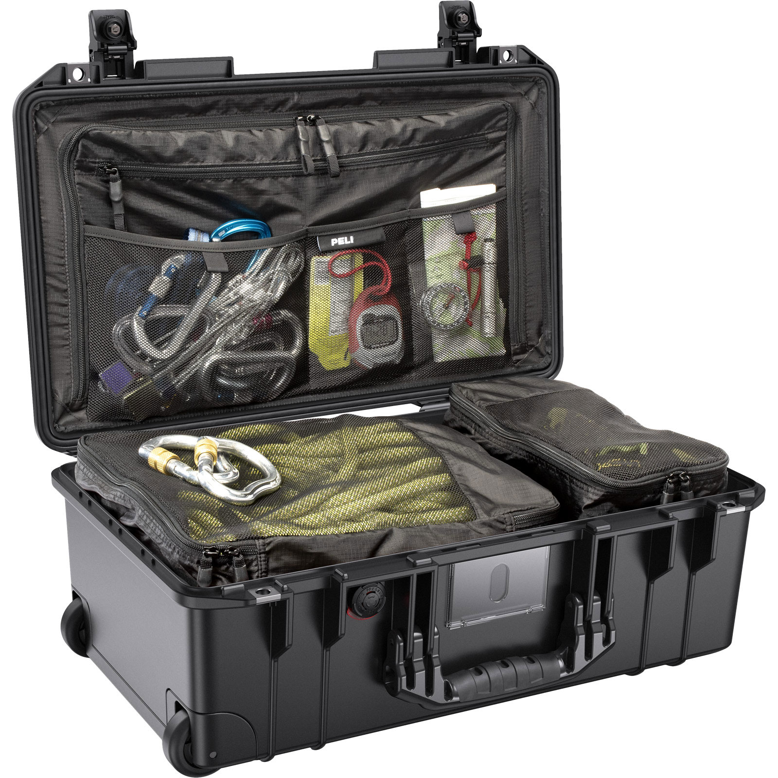peli 1535 black tsa lock luggage case