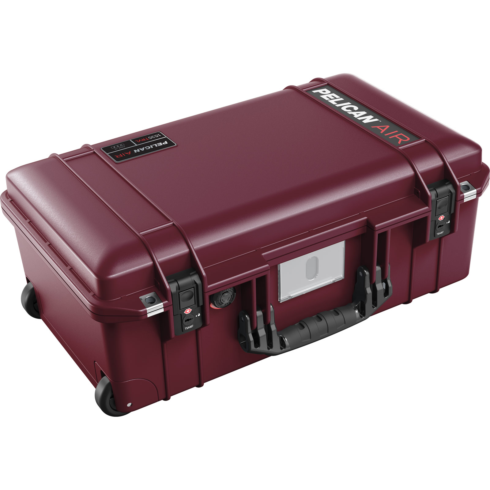 pelican 1535 oxblood travel case