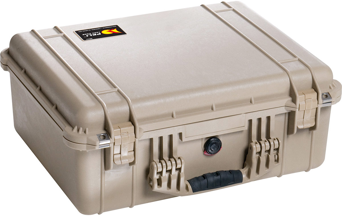 peli 1550eu dustproof camera case