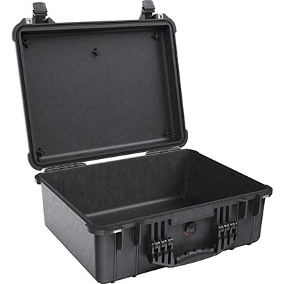 pelican 1550 black drone camera case