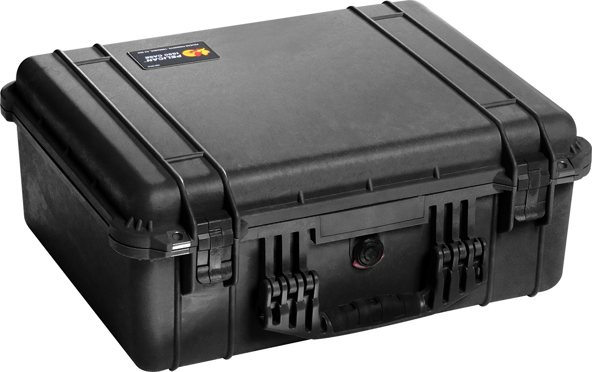 pelican 1550 camera case watertight hardcase