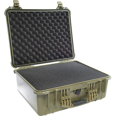 pelican 1550 hard shell waterproof tactical case