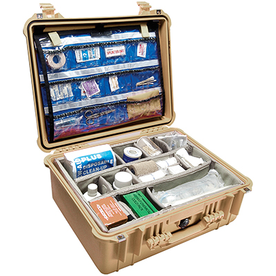 pelican 1550ems hospital emt first aid case