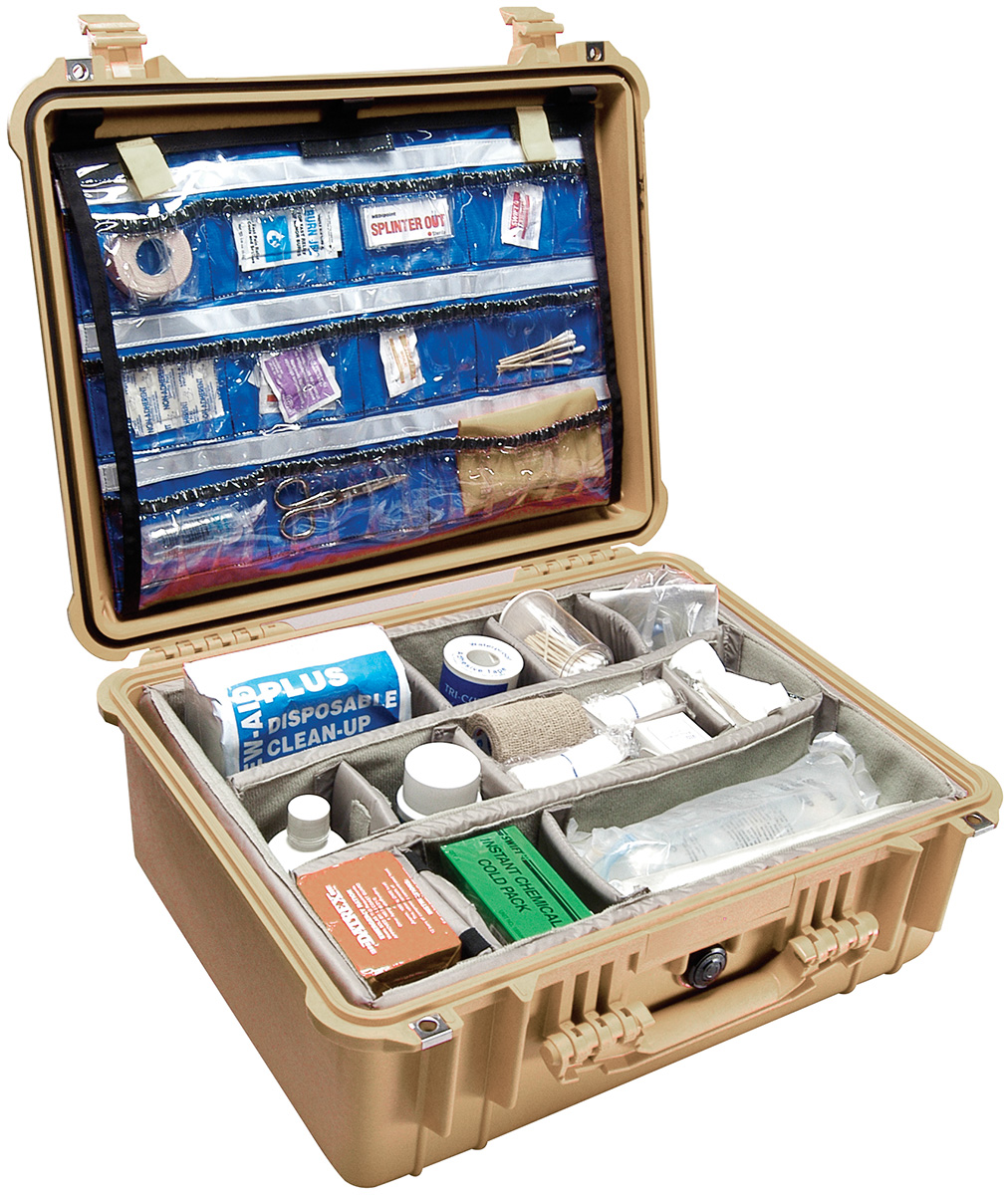 pelican peli products 1550EMS hospital emt first aid case