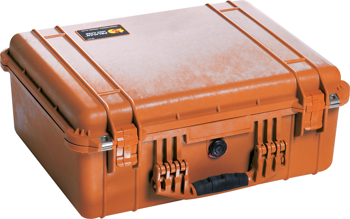 pelican 1550ems orange medical case