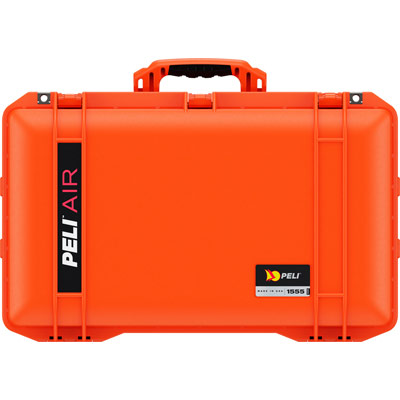 pelican 1555 orange air case hard cases