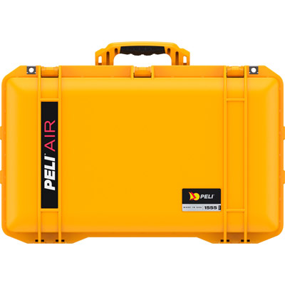 peli air case yellow 1555 watertight cases