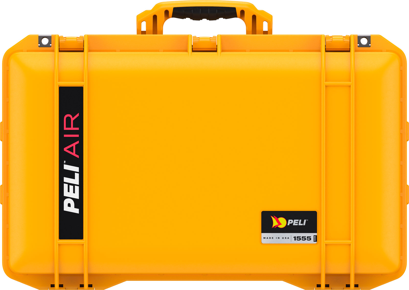 pelican 1555 air case yellow watertight cases