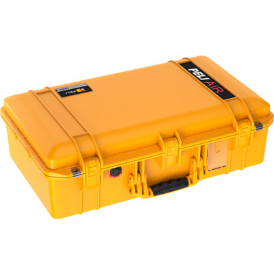peli air lightweight hard case 1555 yellow