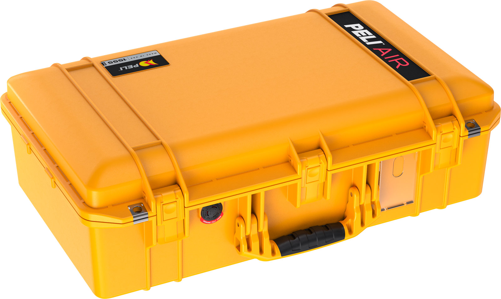 pelican 1555 air lightweight hard case yellow
