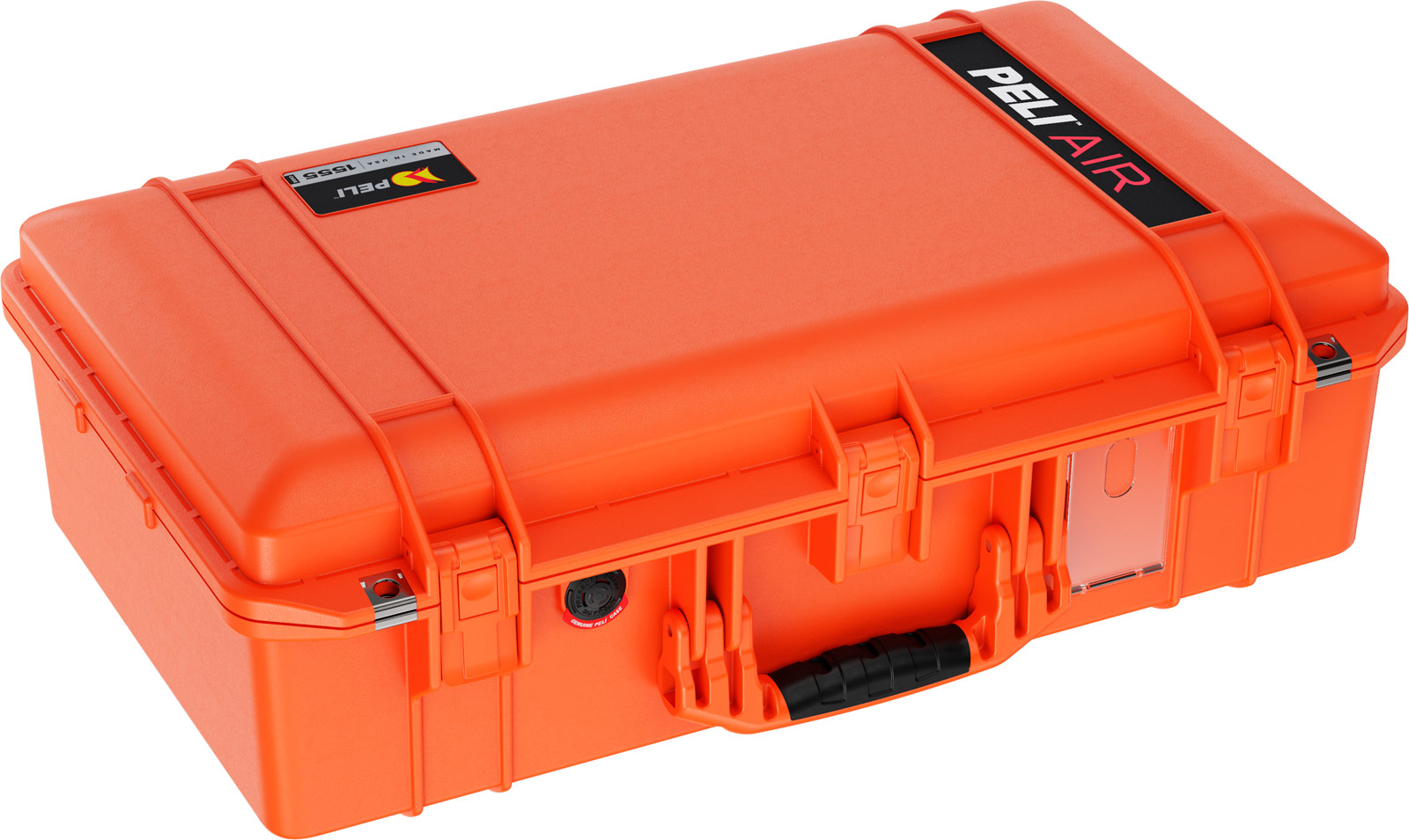 peli products air case orange color cases