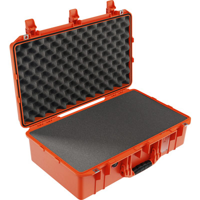 buy pelican air 1555 shop orange foam waterproof case