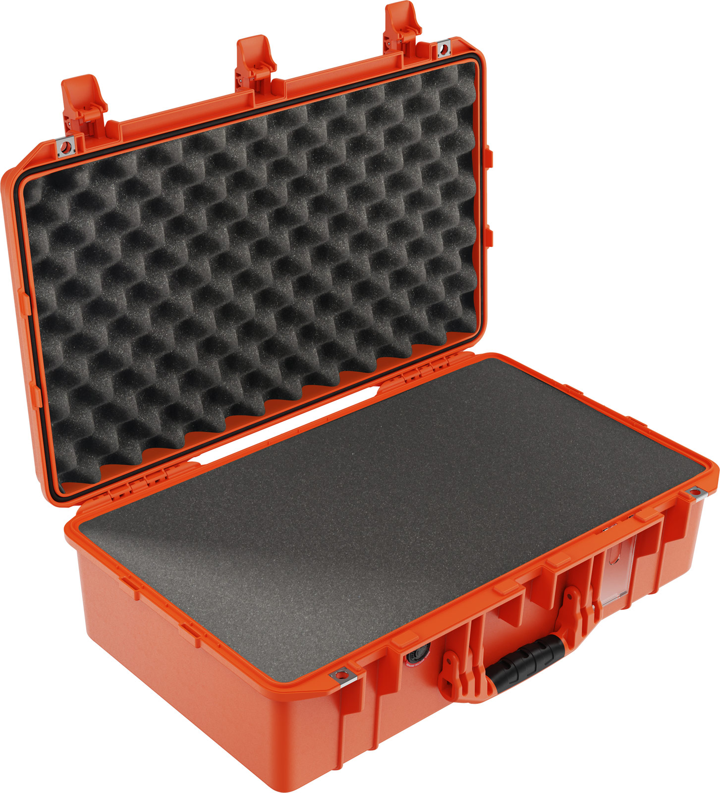 pelican 1555 orange foam waterproof case