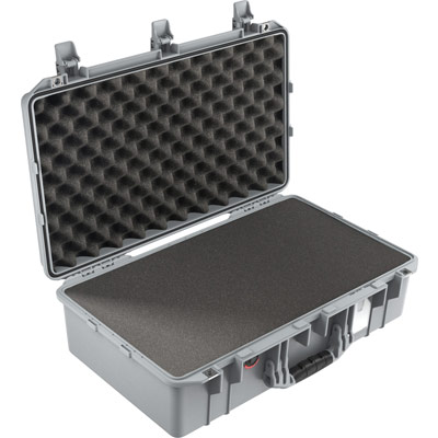 buy pelican air 1555 shop silver foam watertight case