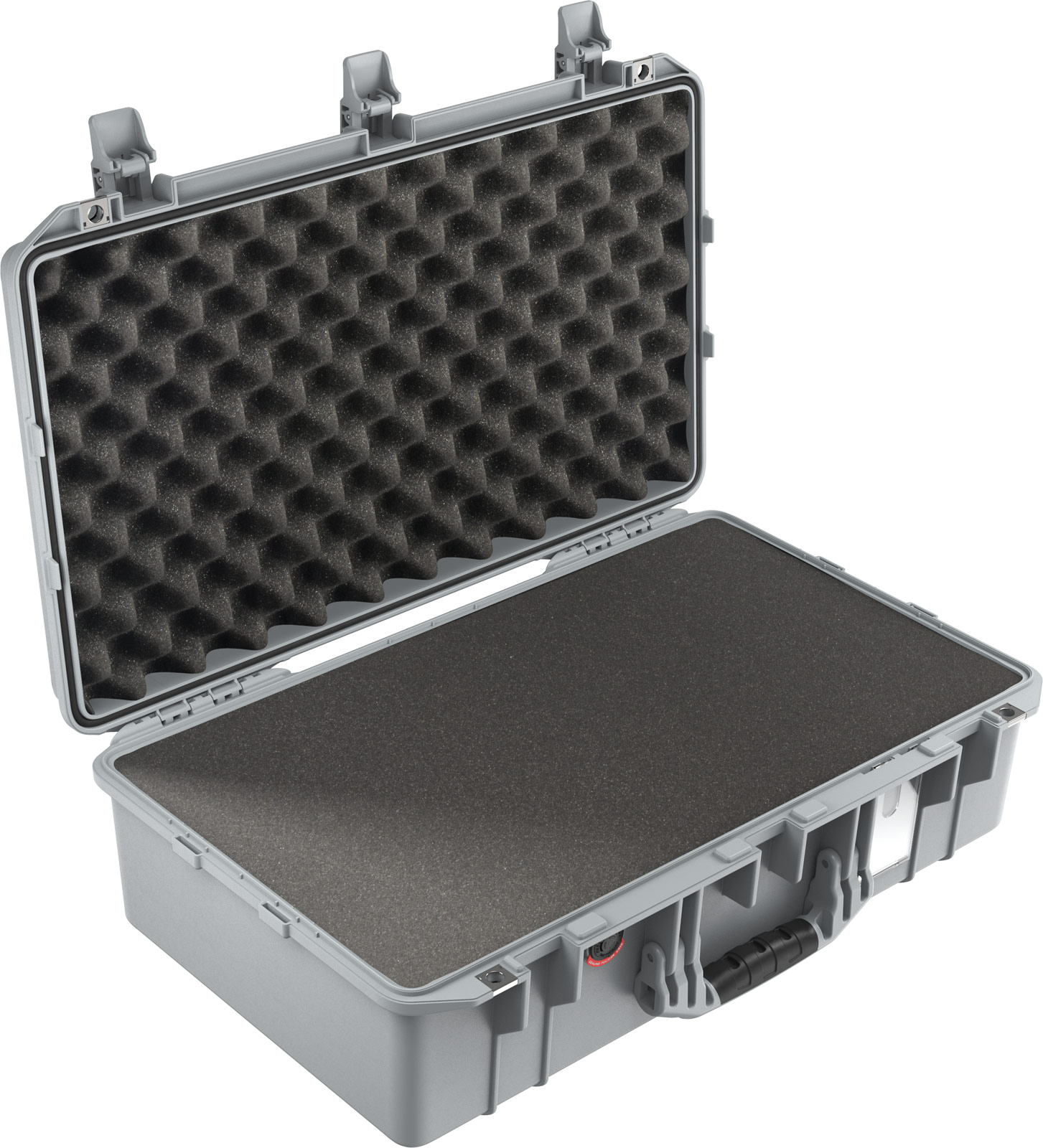 pelican 1555 silver foam watertight case