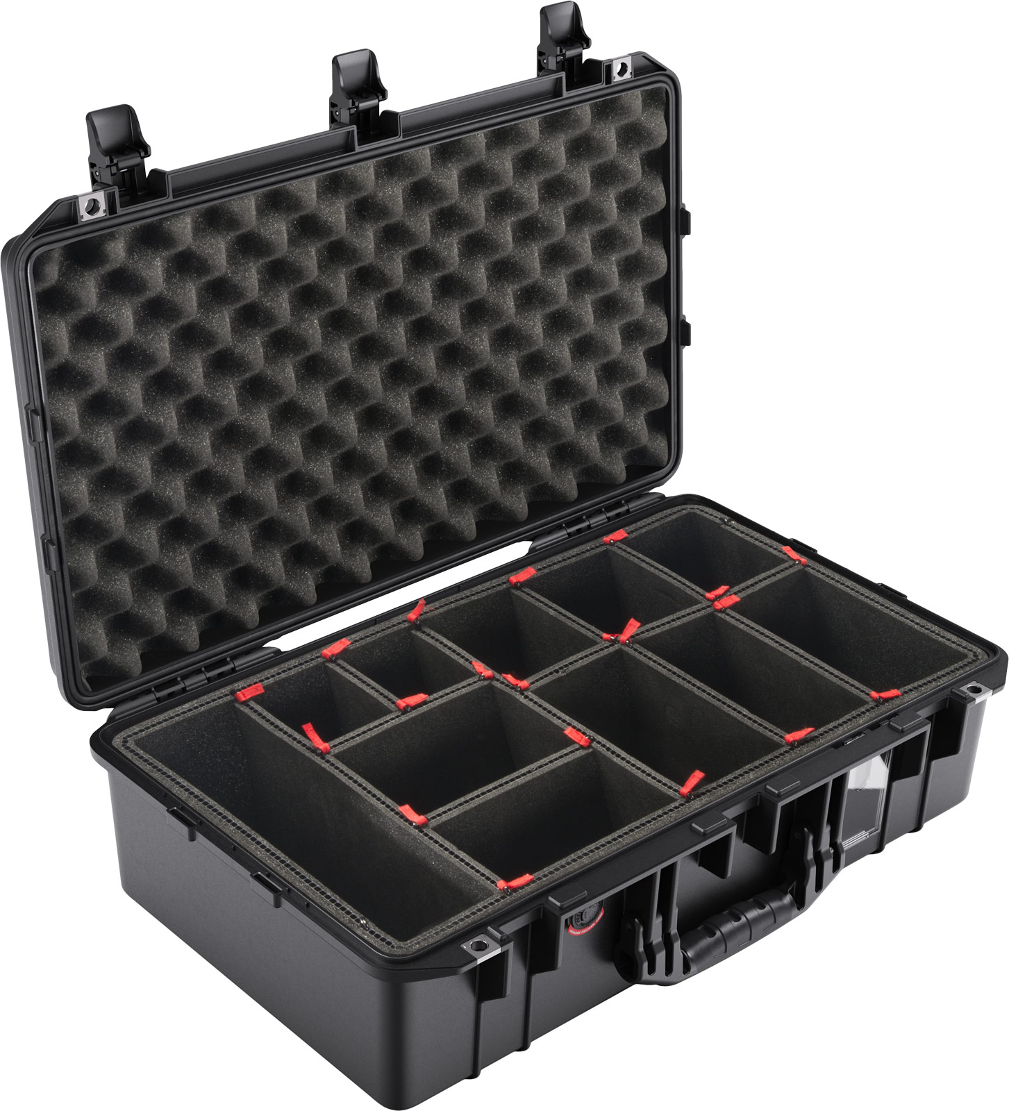 pelican 1555tp trek pak air case 1555