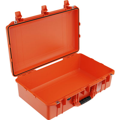 pelican air 1555 orange camera lens case
