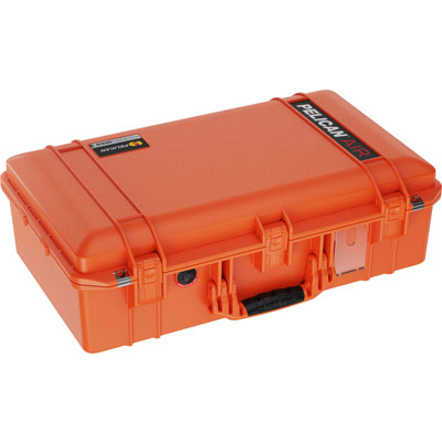 pelican orange 1555 air case travel cases
