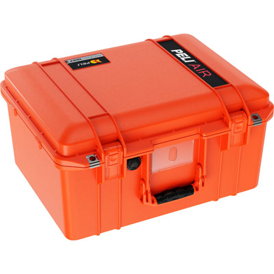 pelican 1557 hard drone camera case orange