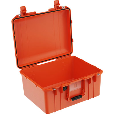 pelican 1557 air orange no foam crushproof case
