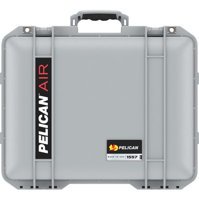 pelican 1557 silver case with foam