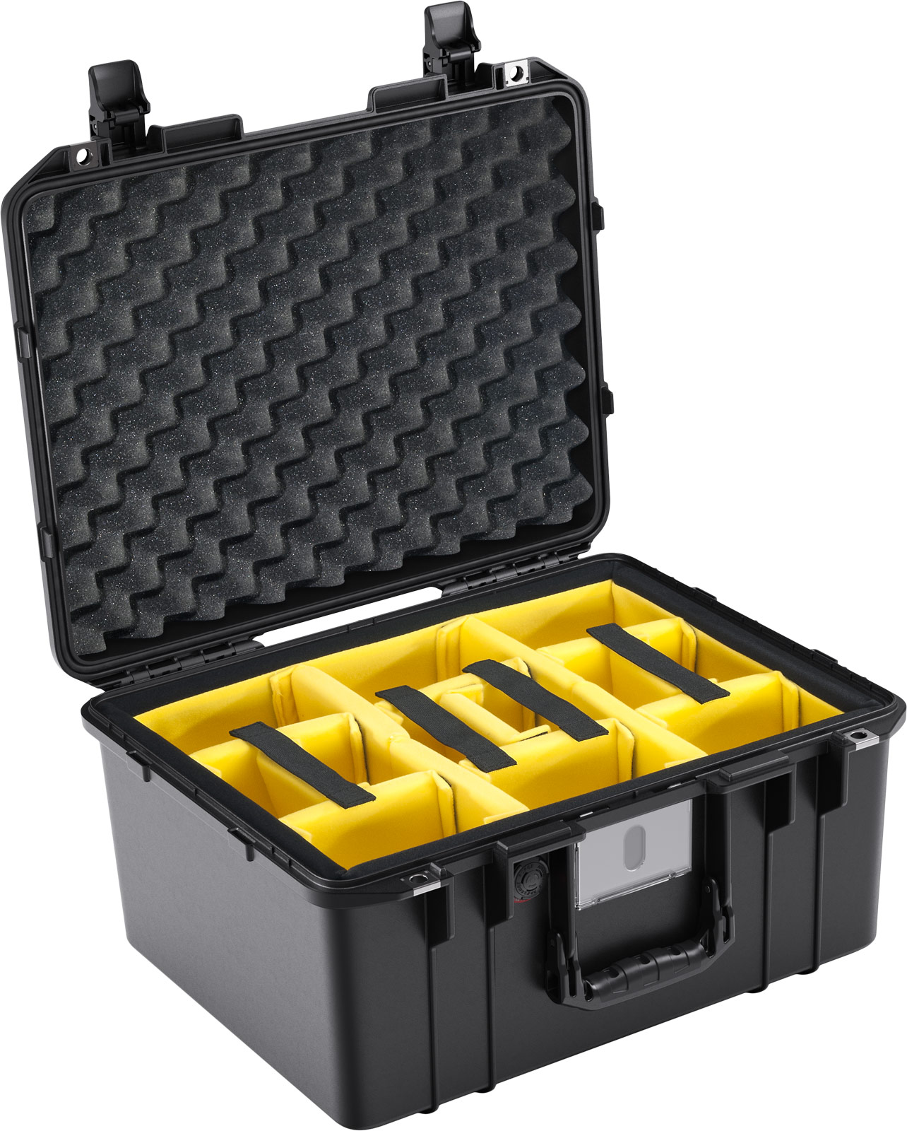 pelican 1557 air case padded dividers camera