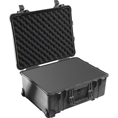 pelican 1560 black dustproof foam case