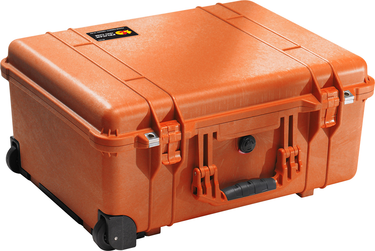 pelican 1560 orange camera case