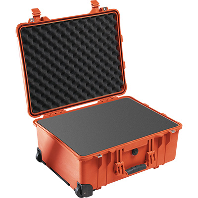 pelican 1560 orange foam camera case