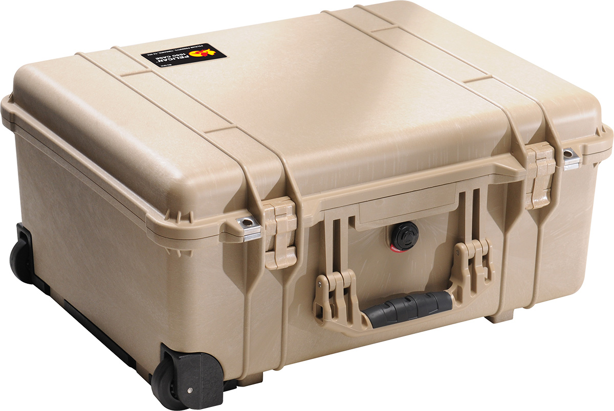 pelican 1560 tan crushproof case