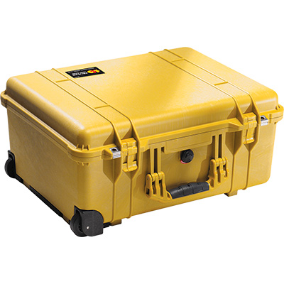 pelican 1560 yellow watertight case