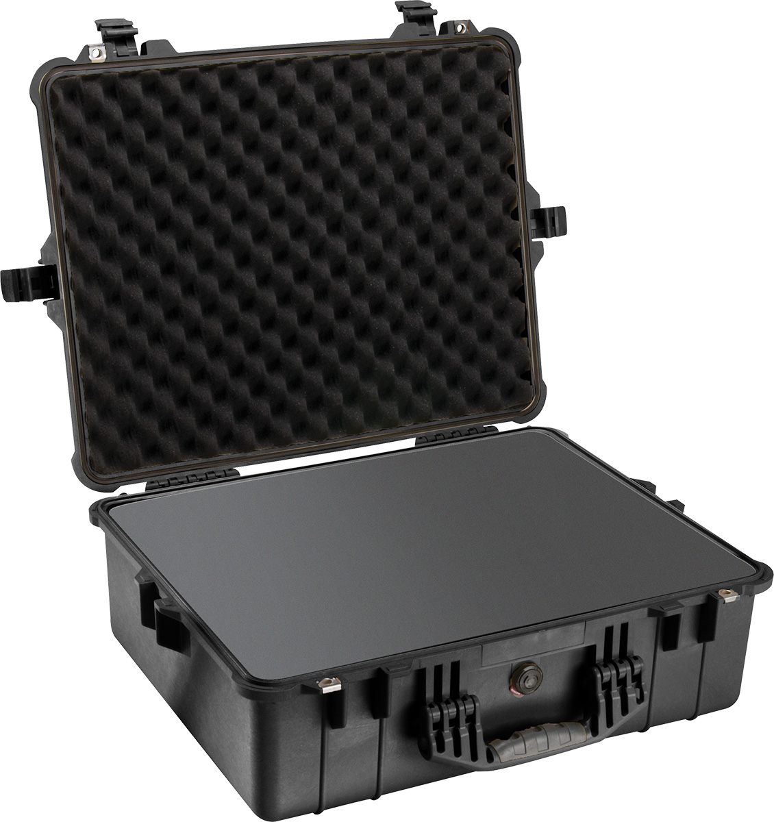 pelican 1600 black foam protector case