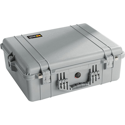 pelican 1600 silver watertight case
