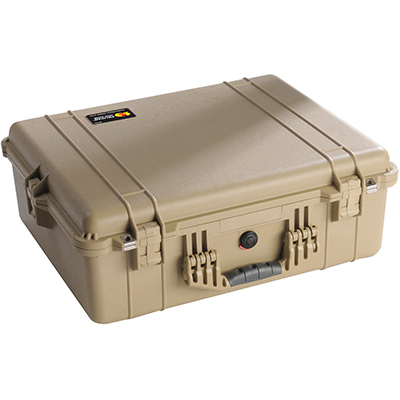 pelican 1600 watertight equipment hard case