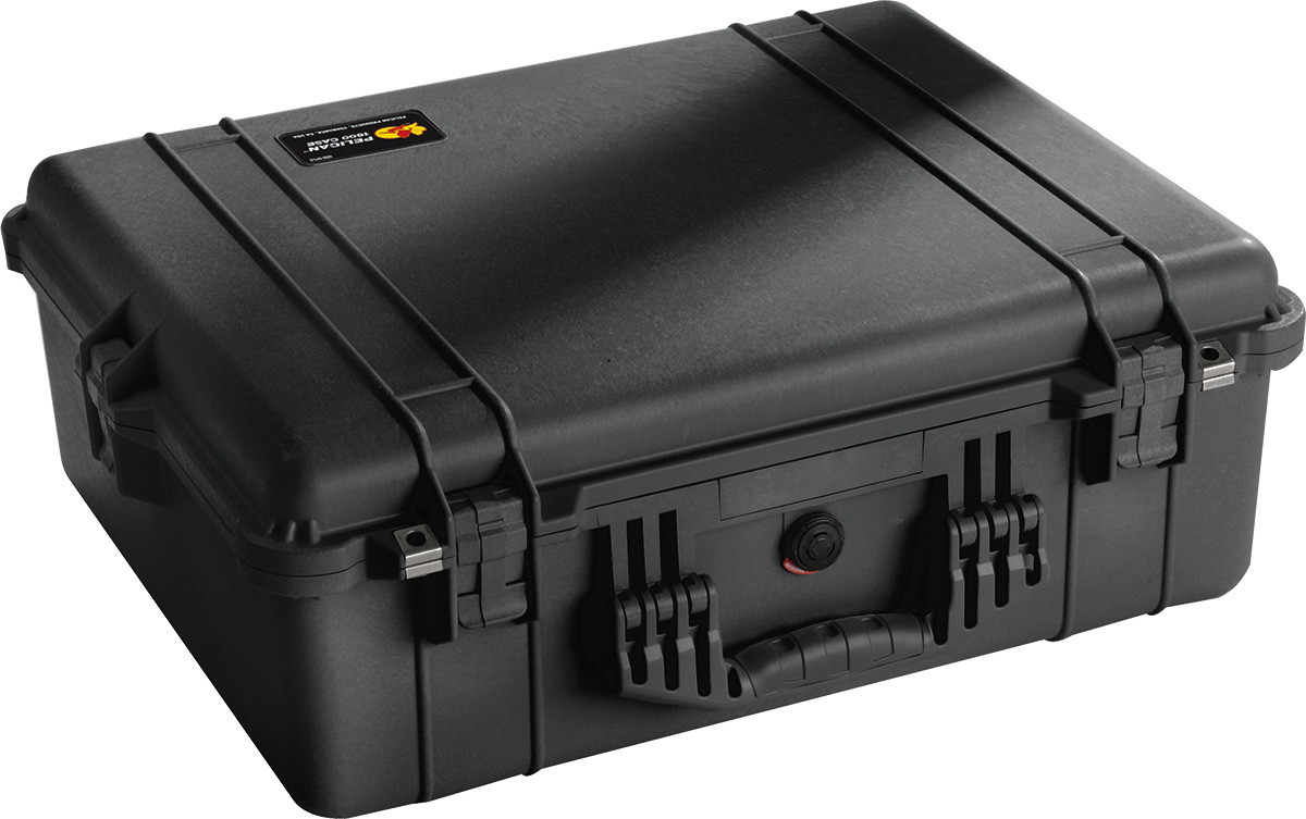 pelican 1600 watertight protector case