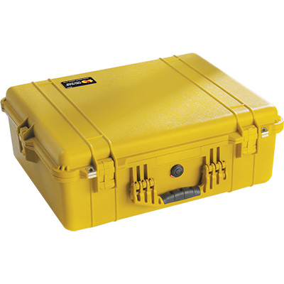pelican 1600 yellow dslr camera case