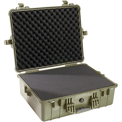 pelican 1600 tough waterproof equipment case