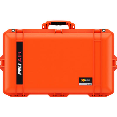 pelican 1605 orange air case hard cases