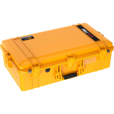 peli air cases colors yellow 1605 case