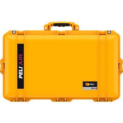 peli air cases yellow 1605 case waterproof